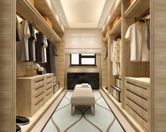 Gavetas closet