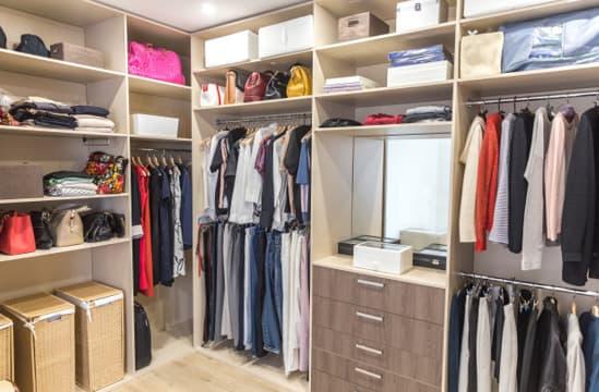 Profissional para elaborar o closet